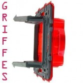Support pour fixations à griffes standard L 27mm