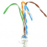 Cable communication 4 paires cat 6 F/UTP couronne de 100m