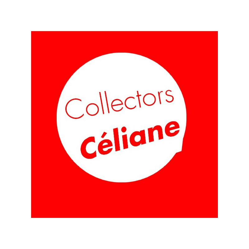 Plaque Céliane coco 1 poste - collector
