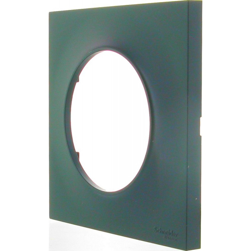 Plaque Odace styl 1 poste Anthracite