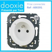 Prise de courant connectée dooxie with Netatmo 16A - blanc