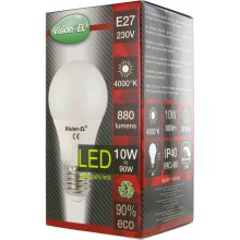 ampoule led E27 10 W blanc naturel 4000°K