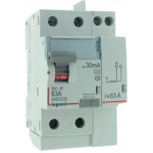 INTER DIFF 2 X 63A VIS VIS- 30 mA type A